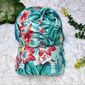C..C. Tropical Hawaiian Floral Trucker Hat